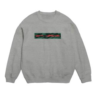 国士の迷彩(緑×赤) Sweats