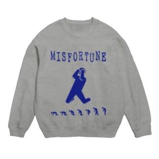 MISFORTUNE-BL Sweats