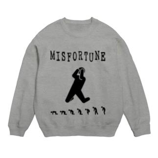 MISFORTUNE-BK Sweats