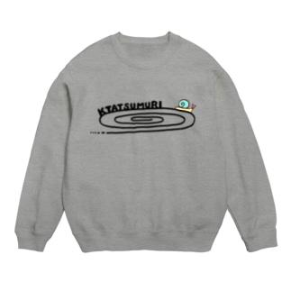 かたつむりTシャツ(文字黒) Sweats