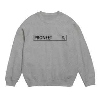 PRONEETで検索  スウェット