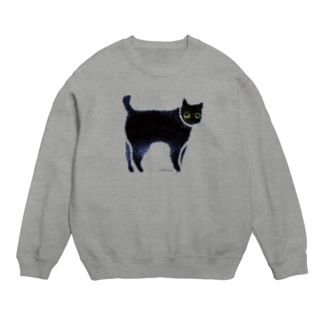 a piece of animation にじいろの黒ねこ SWh Sweats