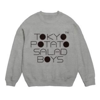 東京ポテトサラダボーイズ公式ネオクラシックロゴ Sweats