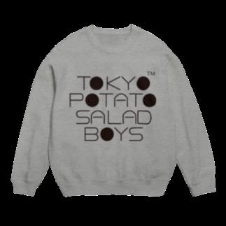 東京ポテトサラダボーイズ公式ショップの東京ポテトサラダボーイズ公式ネオクラシックロゴ Sweats