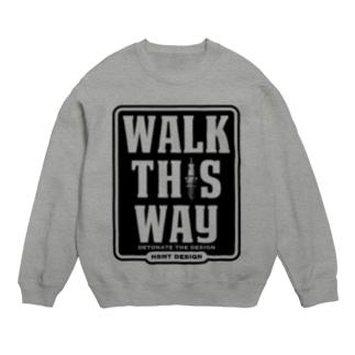 WALK THIS WAY スウェット