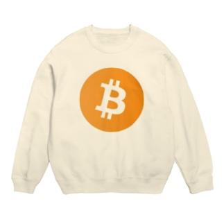 仮想通貨 ビットコイングッズ スウェット