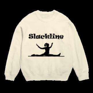 SLACKLINE HUB(スラックライン ハブ)のスラックライン(スプレッド) Sweats