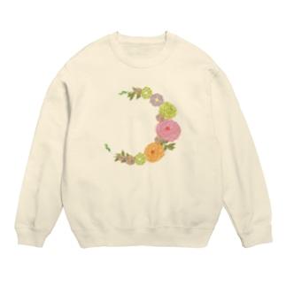 Crescent Bouquet Sweats