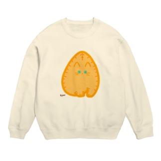 つままれ茶トラ[pinched:OrangeTabby] Sweats
