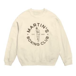 MARTIN'S BOXING CLUB〈Circle_Ash〉 Sweats