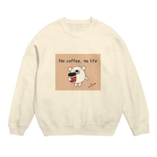 くまのポポ(No coffee, no life) Sweats