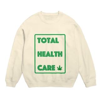 やーまん山田と向井さん - THC Leaf Sweats