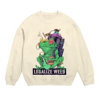 LEGALIZE IT FROG (SH11NA WORKS) Sweats