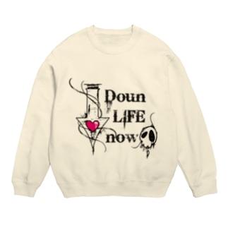 Doun LIFE now-白- Sweats