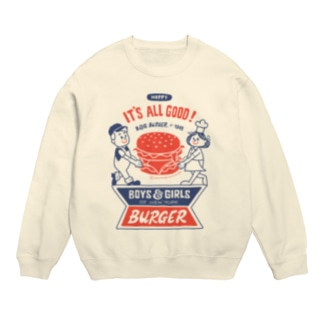 ハンバーガー&BOY&GIRL Sweats