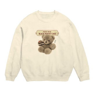 CHICHIPIのTEDDYBEAR BLACK FOREST Sweats