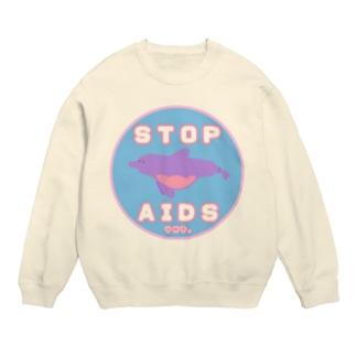 Condom Dolphin【STOP AIDS】 スウェット