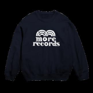 more recordsのモアレコロゴ白 Sweats