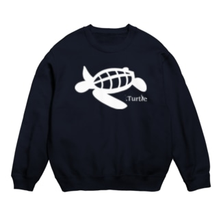 Turtle-white スウェット