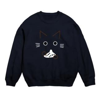 オカリナ猫(オカリナ白) Sweats