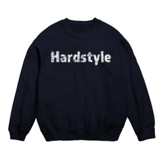 Hardstyleロゴ入りスウェット 白文字  Sweats