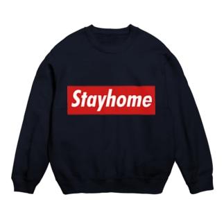 Stayhome BOXロゴシリーズ Sweats