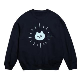 サンシャイン猫ブルー スウェット