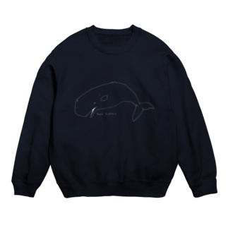 死んだマッコウクジラ(黒が好きな人用) Sweats