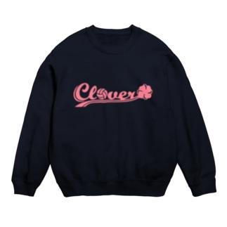Clover ピンク スウェット