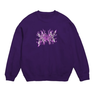 【X Thunder logo X】 PURPLEVer. Sweats
