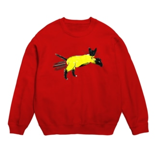 flying cat Sweats
