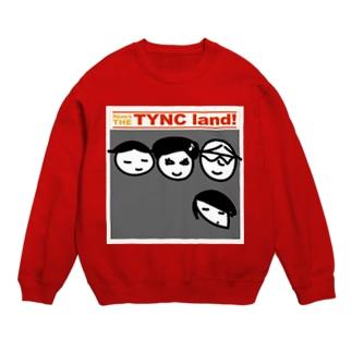 Kekyo & Yoritan RECORDSのTHE TYNC land Sweats