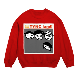 Kekyo & Yoritan RECORDSのTHE TYNC land Sweats