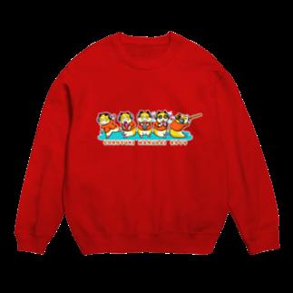 雪猫カゥルの雑貨店のコロユキ5匹 Sweats