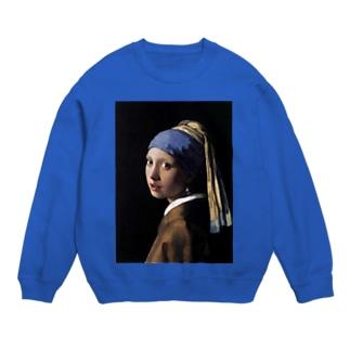 青いターバンの女 Sweats