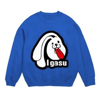 I.gasu ラバー【アイガス】 Sweats