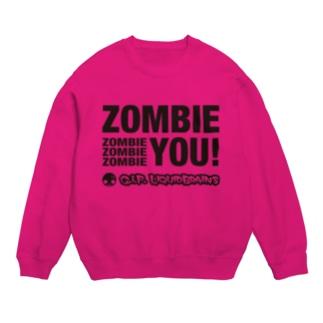 Zombie You! (black print) スウェット