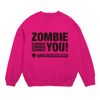 KohsukeのZombie You! (black print) スウェット