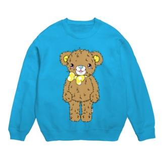 クマのブラウン(うさぎのラビのお友達) Sweats