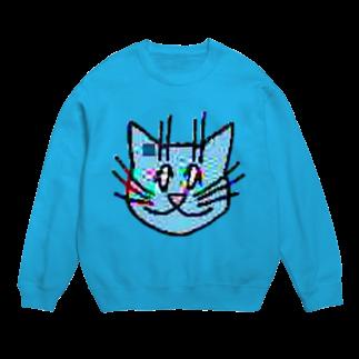 TKCH ONLINE STORAGE B1の画質悪猫 Sweatshirtsスウェット