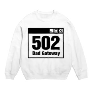 502 Bad Gateway アイコン(A) スウェット