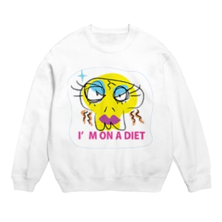 I m on a diet スウェット