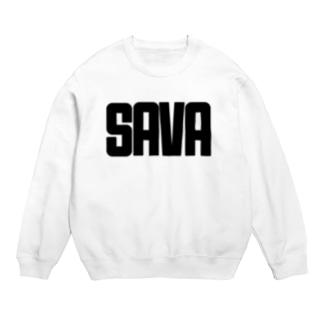 SAVA(ブラック字) Sweats