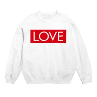 LOVE 赤ラベル Sweats