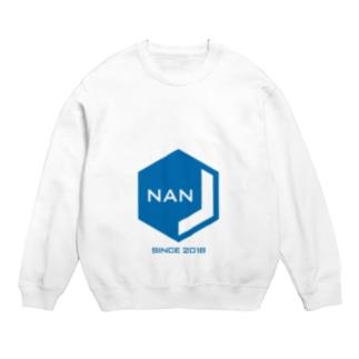 NANJCOIN公式ロゴ入り スウェット