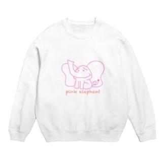 pink elephant スウェット
