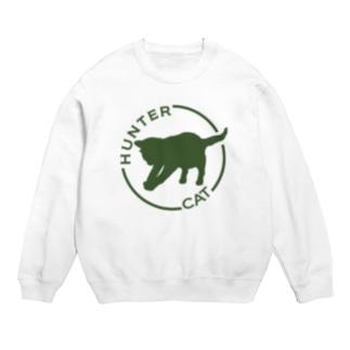ハンターキャット HAUNTER CAT Tシャツ(ホワイト) Sweats