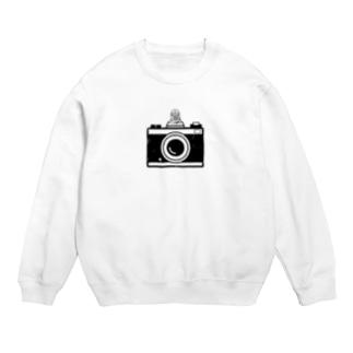 カメラとレスラー(モノクロ) Sweats