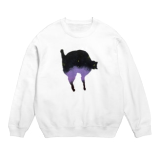a piece of animation にじいろの黒ねこ SW_Paris Sweats