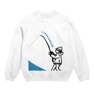 釣りが好き スウェット